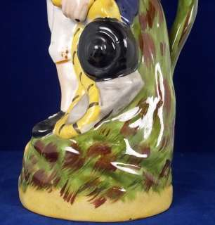 c1890 Staffordshire Jug Of Lord Nelson