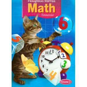 Houghton Mifflin MATH Tennessee Teachers Edition Grade 2