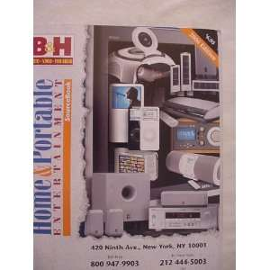 The Home & Portable Entertainment SourceBook (B&H photo