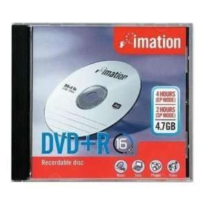 Imation DVD+R (4.7 GB) (16x) Branded With Standard Jewel