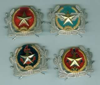 4 types Vietnam army insignia badge for hat cap