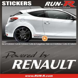Sticker Renault  Twingo Clio Megane Wind Laguna RE133