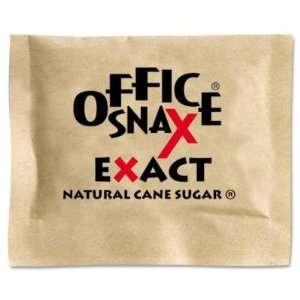 Office Snax Natural Cane Sugar, 2000 Packets/Carton (00063) Office