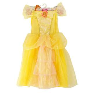 Disney Princess Belle Ruffle Dress   Pink   Creative Designs