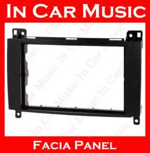 Double Din Fascia Facia Adaptor for Mercedes Vito