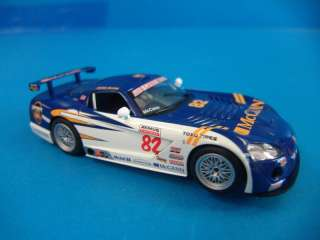 HM Scalextric Dodge Viper Competition 1/32 Scale Slot Car Analog