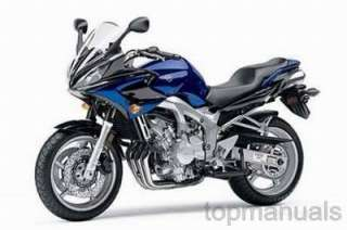 MANUAL TALLER YAMAHA FZ6 SS FZ6SSC WORKSHOP SERVICE