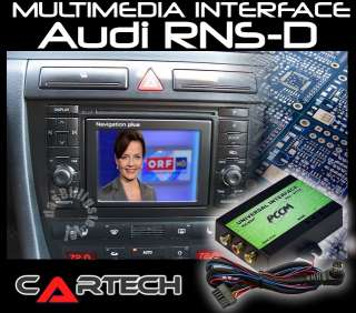 VW/SEAT/FORD/AUDI Multimedia Adapter/Interface para navegadores MFD1 y