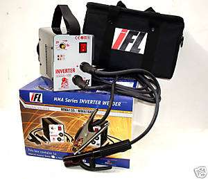 INVERTER FUSION 160 Amp DC INVERTER ARC / TIG WELDER