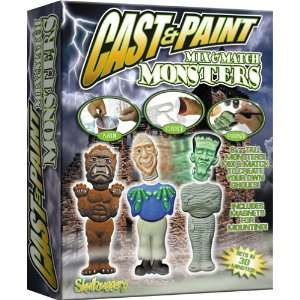 Skullduggery Cast & Paint Kit Monsters  785 Toys & Games