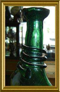 ANTIQUE ARABIA C1750 CAMEL HAND BLOWN GLASS BOTTLE RARE
