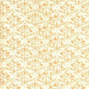 Doll House  Wallpaper Art Nouveau Tulip Ivory h60