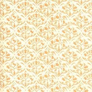 Doll House  Wallpaper Art Nouveau Tulip Ivory h60