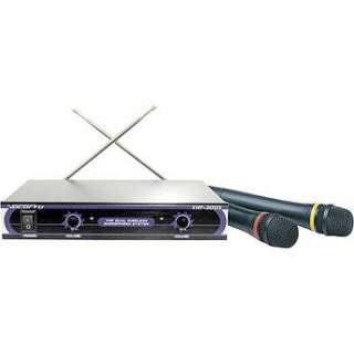VocoPro VHF 3005   Dual Channel VHF Wireless Microphone VHF 3005