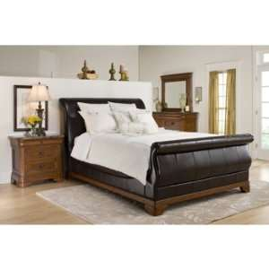 Cindy Crawford Cherry 4Pc Queen Bedroom Set