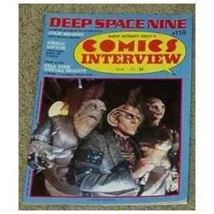 Comics Interview #118 Deep Space Nine (Star Trek) David