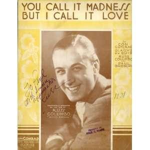 SIGNED) Con Conrad, Gladys DuBois, Paul Gregory Russ Columbo Books
