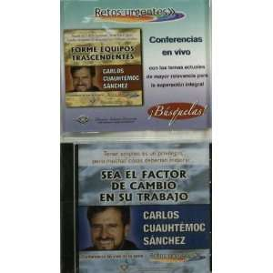 ) (Spanish Edition) [Audio CD] Carlos Cuauhtemoc Sanchez Books