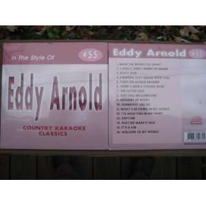 Country Karaoke CDG All EDDY ARNOLD Hits CKC #55 Eddy Arnold Music