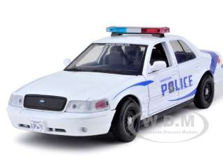 2007 FORD CROWN VICTORIA VANCOUVER POLICE CAR 124