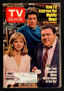 TV Guide Magazine July 1985 Long Danson Wendt