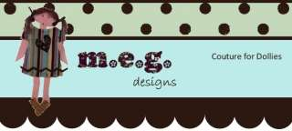 Trendy Togs by m.e.gsigns for Dianna Effner 13 Studio dolls