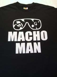 MACHO MAN Randy Savage Sunglasses T shirt