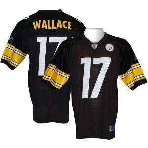 Reebok Pittsburgh Steelers Mike Wallace Youth Replica Jersey