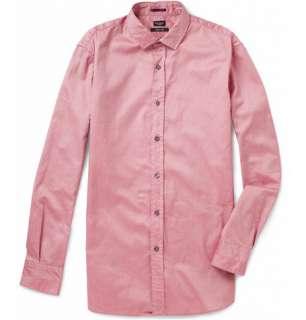 Clothing  Casual shirts  Long sleeved shirts  Washed