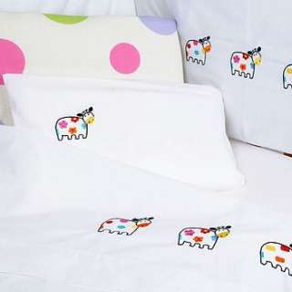 cot bed duvet cover and pillow case by babou