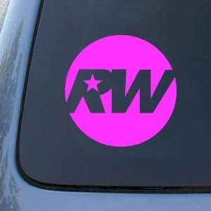 ROBBIE WILLIAMS   Vinyl Car Decal Sticker #1821  Vinyl Color Pink