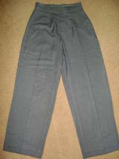 Tommy Bahama Womens Dress Pants Grey Sz 4 Pleaded