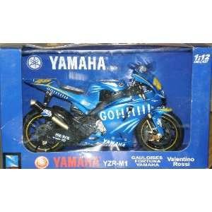 YZR M1 112 Die Cast Motorcycle / #46 Valentino Rossi
