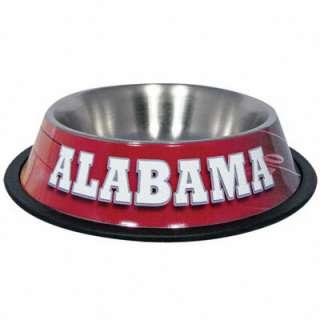 Alabama Crimson Tide Stainless Steel Dog Bowl