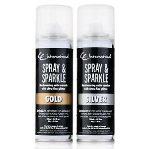 Crafters Companion Spray & Sparkle Glitter Spray 2 pack