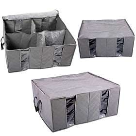 Charcoal Non Woven Fabric Clothing Storage Bag/Organizer Bag #00232754
