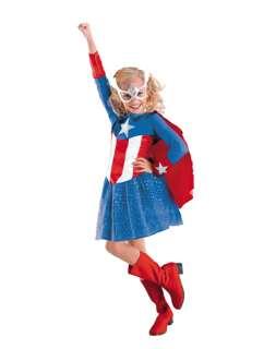 Captain America Dream Girl Childs Costume