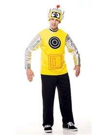 Yo Gabba Gabba Plex Adult Mens Costume