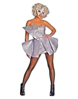 adult elvis costume elvis glasses lady gaga silver sequin dress adult
