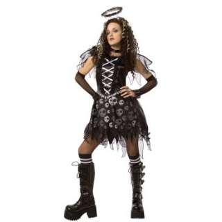 Gothic Skull Dark Angel Teen Costume, 61984