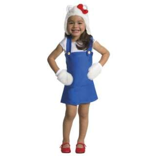 Halloween Costumes Hello Kitty   Hello Kitty Blue Romper Toddler