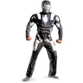 Halloween Costumes Iron Man 2 Movie   War Machine Classic Muscle Adult