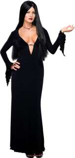 Morticia Addams Adult Costume  Morticia Halloween Costume