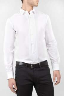 White Cotton Mid Fit Shirt by Paul Smith London   White   Buy Shirts