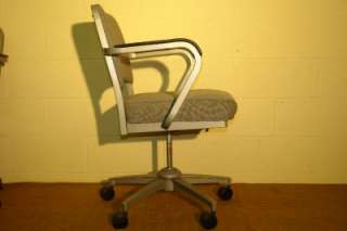 Vics Vintage LLC   EMECO Upholstered Swivel Chair ~ Model 503 #1 of 2