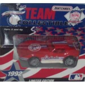Saint Louis Cardinals 1992 MLB 1/64 Diecast Corvette