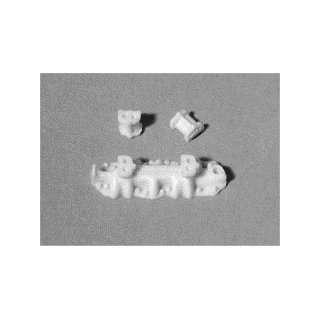 Carb Intake Manifold w/Separate Risers (Resin) 1 24 1 25 Model Car