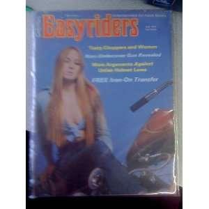 EASYRIDERS MAGAZINE     JULY 1975 ISSUE: EASYRIDERS: