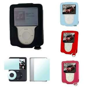 3rd Generation iPod Nano 4gb 8gb Video Premium Leather Carrying Case