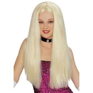 Long Blonde Wig  Toys & Games